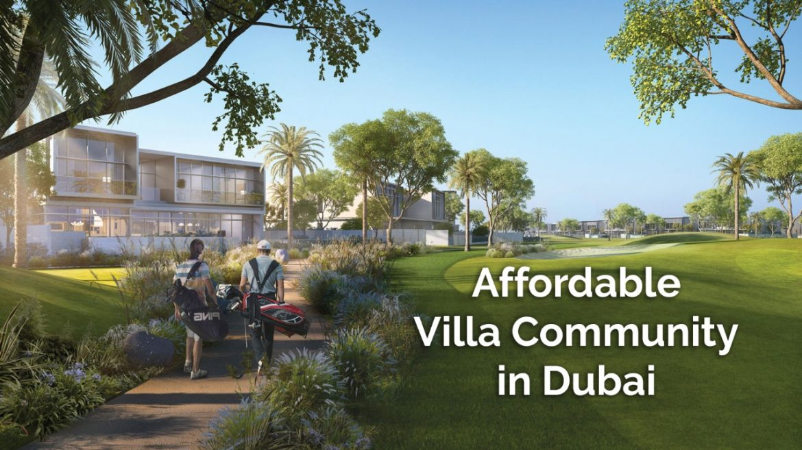 Affordable Villa Community in Dubai
