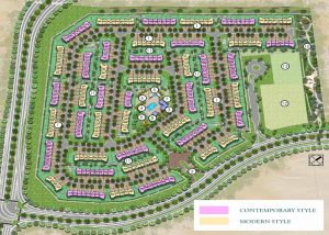 Design of Expo Golf Villas