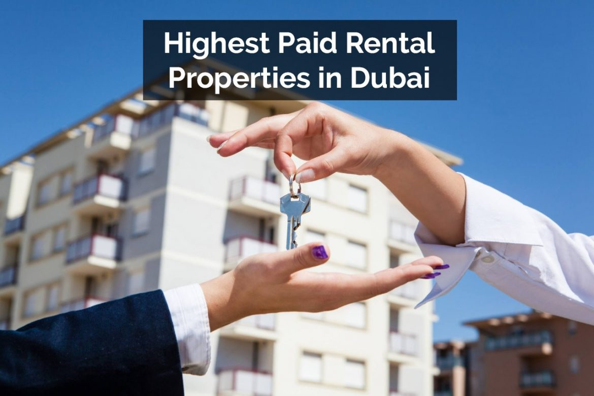 Rental Properties in Dubai for high Rental Yield